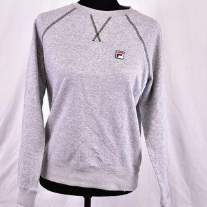 Fila Elie French Terry Crewneck Sweatshirt, Grey